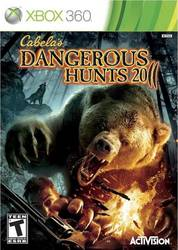 Cabela's Dangerous Hunts 2011 XBOX 360