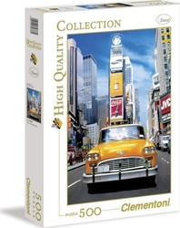 High Quality Collection: Taxi in Time Square 500pcs (30338) Clementoni