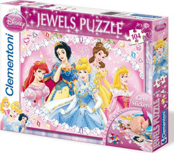 Jewels Princess: Precious 104pcs (20089) Clementoni