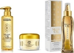 L'Oreal Professionnel Mythic Nourishing Shampoo 250ml & Masque 200ml & Mythic Oil 100ml