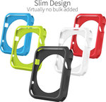 Orzly Multi-Pack FacePlate for Apple Watch (38mm)