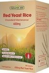 Natures Aid Red Yeast Rice 600mg 600mg 90 κάψουλες