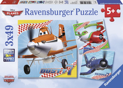 Disney Planes: Dusty and Friends 3x49pcs (09322) Ravensburger