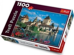 The Oberhofen Castle, Switzerland 1500pcs (26102) Trefl