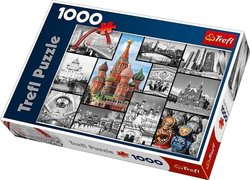Moscow: Collage 1000pcs (10380) Trefl