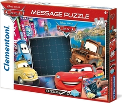 Message: Disney Cars 104pcs (20233) Clementoni