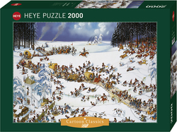Jean-Jacques Loup: Napoleon's Winter 2000pcs (29566) Heye