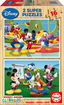 Disney: Mickey Mouse Club House 2x16pcs (14181) Educa