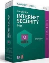 Kaspersky Internet Security 2016 (1 Licence , 1 Year)