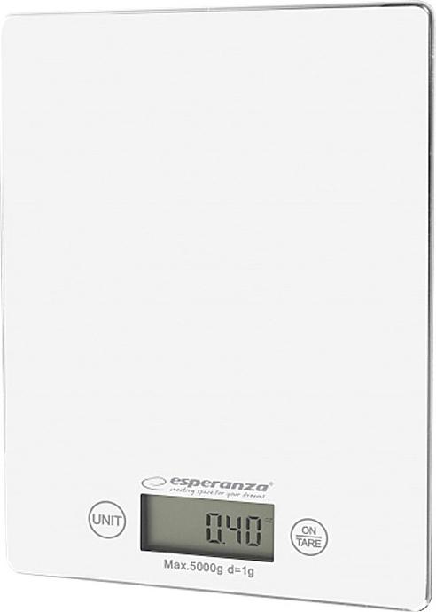 Esperanza EKS002W Lemon White Ψηφιακή Ζυγαριά Κουζίνας 5kg (EKS002W) - Πληρωμή και σε έως 36 Δόσεις!!!