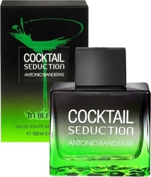 Antonio Banderas Cocktail Seduction In Black Eau de Toilette 100ml