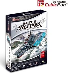 Kiev Aircraft Carrier 103pcs (P602h) Cubic Fun