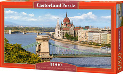 The View Over The Danube, Budapest 4000pcs (C-400126) Castorland