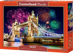 Tower Bridge, London, England 500pcs (B-52028) Castorland