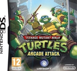 Teenage Mutant Ninja Turtles Arcade Attack DS