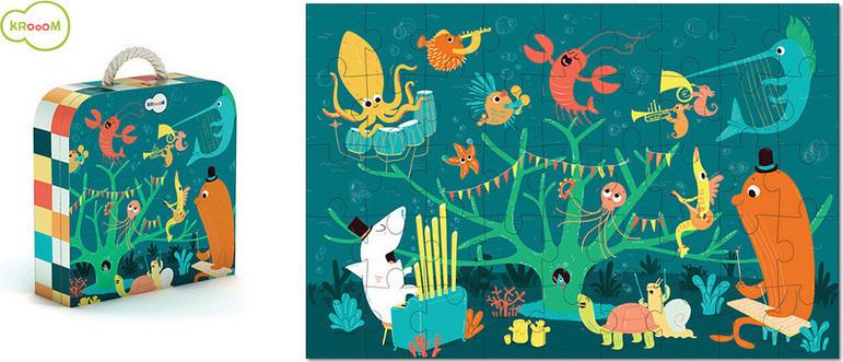 Προσθήκη στα αγαπημένα menu Ορχήστρα  Ζωάκια Θάλασσας 45pcs (220152) Krooom 6f218e92d38