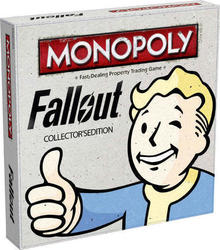 Winning Moves Monopoly: Fallout - Collector's Edition