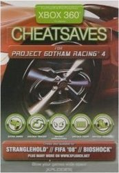 Xploder 360 Cheat Saves For Project Gotham Racing 4 XBOX 360