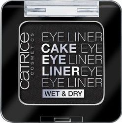 Catrice Cosmetics Cake Eyeliner Wet & Dry 010 Black is Black