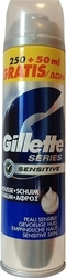 Gillette Foam Sensitive Skin 200ml & 50ml Δώρο