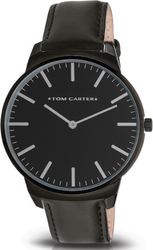 Tom Carter Cruise All Black Leather TOM609L001B