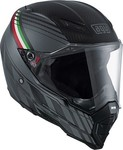 AGV AX-8 Naked Carbon Black Forest Matt Carbon/Grey/Italy