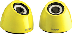 Sweex 2.0 Speaker Yellow