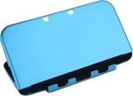 OEM Plastic Aluminum Case Blue New 3DS XL