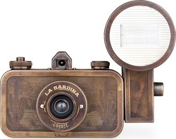 Lomography La Sardina & Flash Metal Edition Coyote