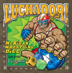 Backspindle Luchador! Mexican Wrestling Dice