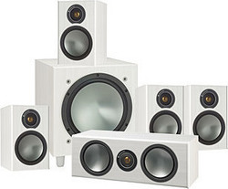 Monitor Audio Bronze 1AV10 White Ash 5.1