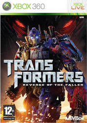 Transformers Revenge of the Fallen XBOX 360