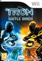 TRON Evolution Battle Grids Wii
