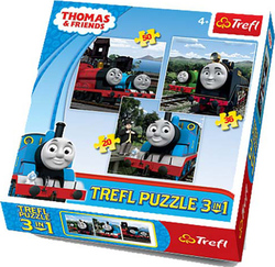 Thomas: 20, 36 & 50pcs (34083) Trefl