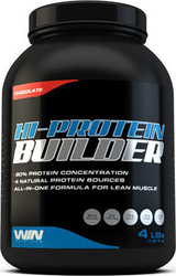 Win Nutrition Hi-Protein Builder 1814gr Φράουλα