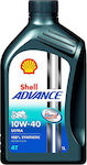 Shell Advance Ultra 4T 10W-40 1lt