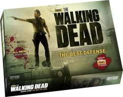 Cryptozoic Entertainment The Walking Dead Board Game: The Best Defense