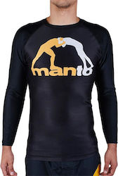 ΜΑΚΡΥΜΑΝΙΚΟ RASH GUARD MANTO CLASSIC - BLACK