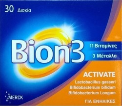 Merck Bion 3 Activate 30 ταμπλέτες