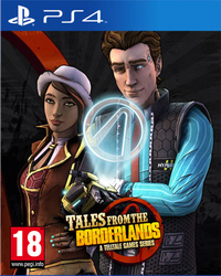 Tales from the Borderlands A Telltale Game Series PS4
