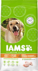 Iams Light Sterilised / Overweight Dogs with Chicken 12kg