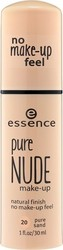 Essence Pure Nude Make-Up 20 Pure Sand 30ml
