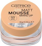 Catrice Cosmetics 12h Matt Mousse Make Up 025 Light Beige 16gr