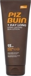 Piz Buin 1 Day Long Lotion SPF15 200ml