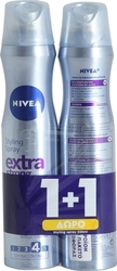 Nivea Extra Strong Spray 2x250ml