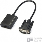 OEM VGA male - HDMI female (16308)