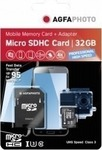 AgfaPhoto Professional High Speed microSDHC 16GB U3 with Adapter