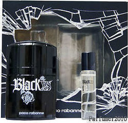 Paco Rabanne Black XS Eau de Toilette 50ml & Black XS Eau de Toilette 15ml