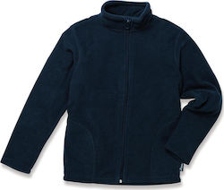 Active Fleece παιδικό μπουφάν Stedman ST5170 - Blue Midnight
