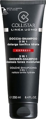 Collistar Men 3 In 1 Shower-shampoo 250ml